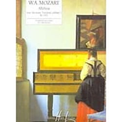 Alleluia Kv. 165 - MOZART - Partition - Piano - laflutedepan.com