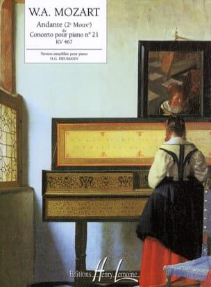MOZART - Andante Du Concerto N ° 21 KV 467 - Sheet Music - di-arezzo.com