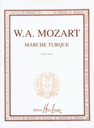 MOZART - Turkish march. 4 Hands - Sheet Music - di-arezzo.com