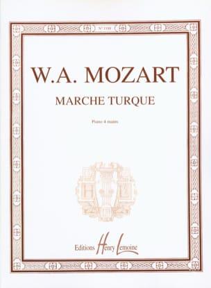 MOZART - Marche Turque. 4 Mains - Partition - di-arezzo.fr