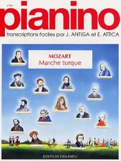 MOZART - Marche Turque Pianino 14 - Partition - di-arezzo.fr