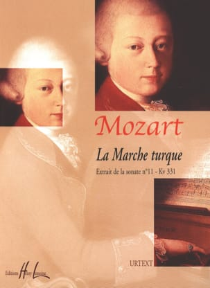 MOZART - Turkish Market KV 331 - Sheet Music - di-arezzo.com