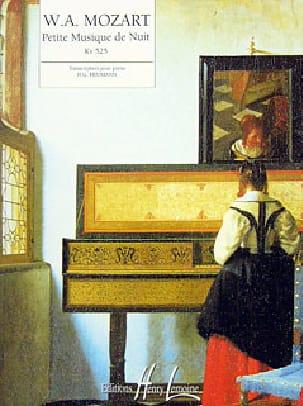 MOZART - Petite Musique de Nuit KV 525 - Partition - di-arezzo.fr