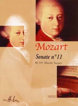 Sonate n° 11 KV 331 MOZART Partition Piano - laflutedepan