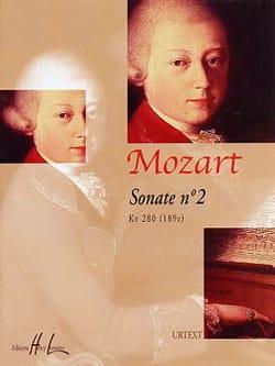Sonate n° 2 KV 280 - MOZART - Partition - Piano - laflutedepan.com