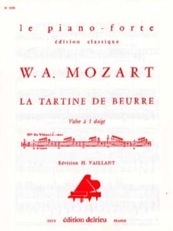 La Tartine de Beurre - MOZART - Partition - Piano - laflutedepan.com