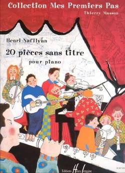 Henri Nafilyan - 20 pieces without title - Sheet Music - di-arezzo.co.uk