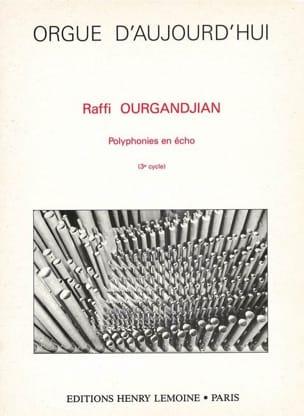Polyphonies en Echo - Ourgandjian - Partition - laflutedepan.com