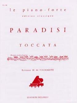 Toccata - Paradisi - Partition - Piano - laflutedepan.com