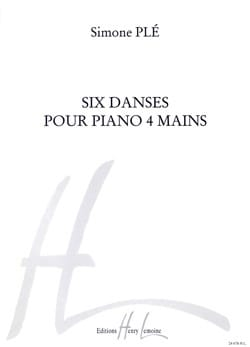 Simone Plé-Caussade - 6 Dances. 4 Hands - Sheet Music - di-arezzo.co.uk