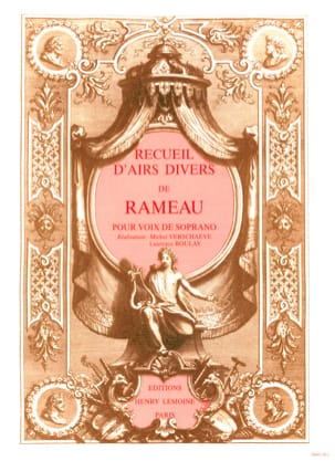 Jean-Philippe Rameau - Volume Collection Volume 1. Soprano - Sheet Music - di-arezzo.co.uk
