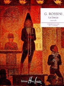 Gioachino Rossini - La Danza - Partition - di-arezzo.fr