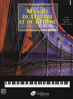 Jean-Christophe Sangouard - Reading and Pace Manual - Volume 1 - Sheet Music - di-arezzo.co.uk