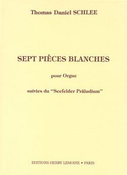 Thomas Daniel Schlee - 7 White Pieces - Sheet Music - di-arezzo.co.uk