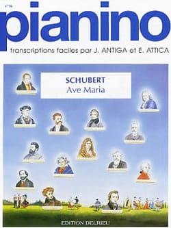 SCHUBERT - Ave Maria Pianino 16 - Sheet Music - di-arezzo.co.uk