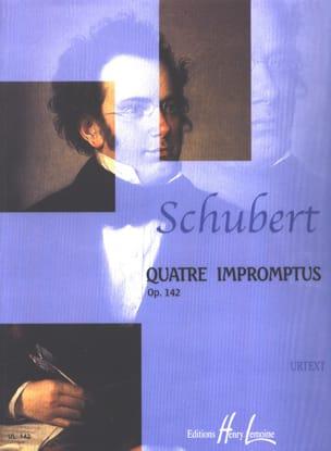 SCHUBERT - 4 Impromptus Opus 142 D 935 - Partition - di-arezzo.fr