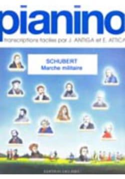 Franz Schubert - Marche militaire - Pianino 30 - Partition - di-arezzo.fr