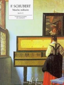 Franz Schubert - Marche Militaire Opus 51-1 - Partition - di-arezzo.fr