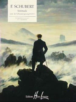 Franz Schubert - Sérénade D. 957 - Partition - di-arezzo.fr