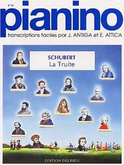 SCHUBERT - The Pianino Trout 19 - Sheet Music - di-arezzo.co.uk