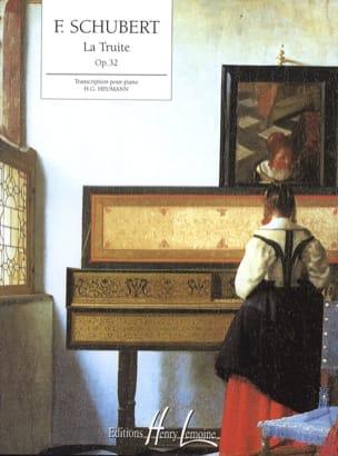 SCHUBERT - The Opus Trout 32 - Sheet Music - di-arezzo.com