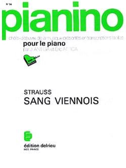 Sang viennois. Pianino 36 - Johann fils Strauss - laflutedepan.com