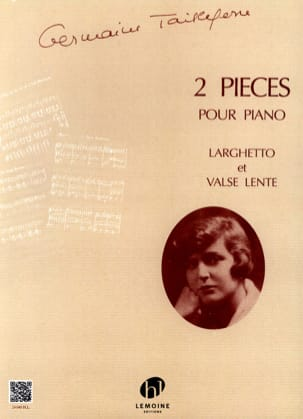 Germaine Tailleferre - 2 rooms - Sheet Music - di-arezzo.co.uk