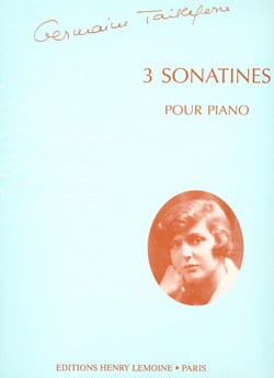 Germaine Tailleferre - 3 sonatines - Sheet Music - di-arezzo.co.uk