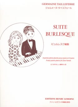 Germaine Tailleferre - Burlesque Suite. 4 Hands - Sheet Music - di-arezzo.co.uk