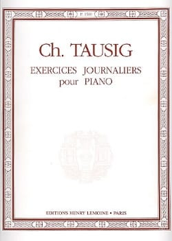 Exercices Journaliers Tausig Partition Piano - laflutedepan