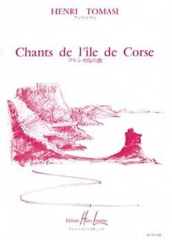 Henri Tomasi - 12 canciones corsas. coro - Partitura - di-arezzo.es