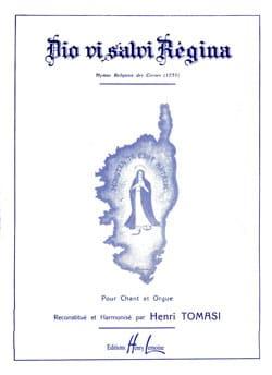Henri Tomasi - Dio Vi Salvi Regina - Partition - di-arezzo.fr