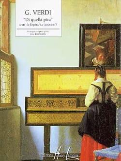 Di Quella Pira - Giuseppe Verdi - Partition - Piano - laflutedepan.com