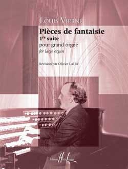 Louis Vierne - Pièces de Fantaisie Opus 51 - Partition - di-arezzo.fr