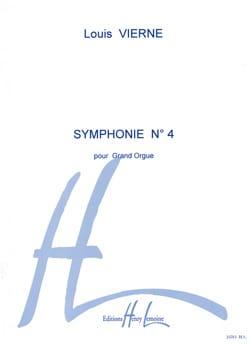 Louis Vierne - Symphonie N°4 Opus 32 - Partition - di-arezzo.fr