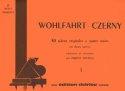 Suite N°1 - 4 Mains Wohlfahrt Heinrich / Czerny Carl laflutedepan