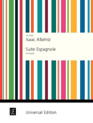 Suite Espagnole Opus47 - Isaac Albeniz - Partition - laflutedepan.com