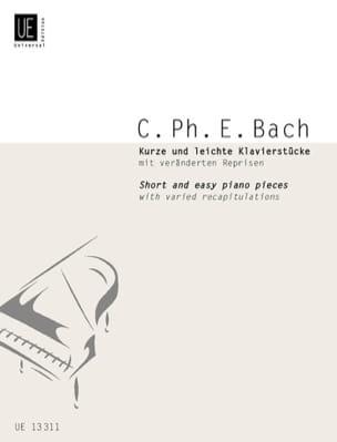 Carl-Philipp Emanuel Bach - Kurze und leichte Klavierstücke. Erste Sammlung - Partitura - di-arezzo.es