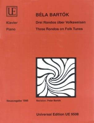 3 Rondos über Volksweisen BARTOK Partition Piano - laflutedepan