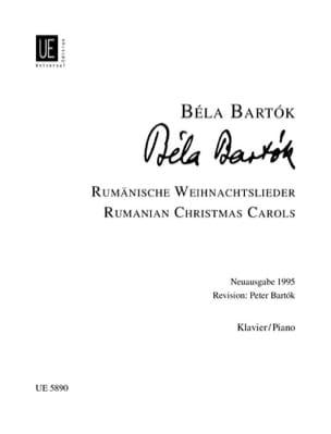 Bela Bartok - Rumänische Weihnachtslieder - Partition - di-arezzo.fr