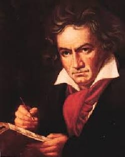 Oeuvres Pour Piano. 4 Mains - BEETHOVEN - Partition - laflutedepan.com