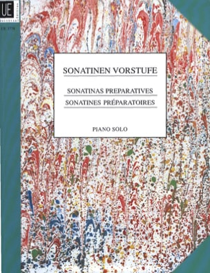 Sonatinen Vorstufe - Partition - Piano - laflutedepan.com