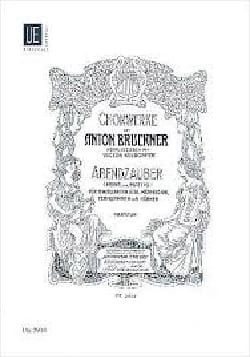 Abendzauber Ges-Dur - Anton Brückner - Partition - laflutedepan.com