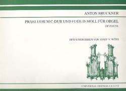 Anton Brückner - Präludium in Ut M. - Fuge In D M - Noten - di-arezzo.de
