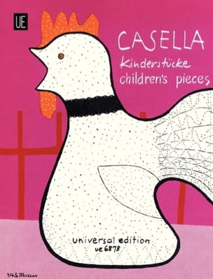 Alfredo Casella - 11 Children's Parts - Sheet Music - di-arezzo.com