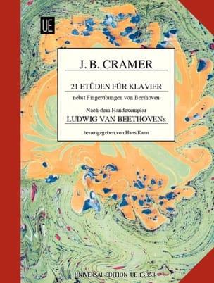 Jean-Baptiste Cramer - 21 Etüden für Klavier - Partition - di-arezzo.fr
