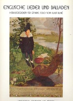 - Englische Lieder und Balladen - Partition - di-arezzo.fr