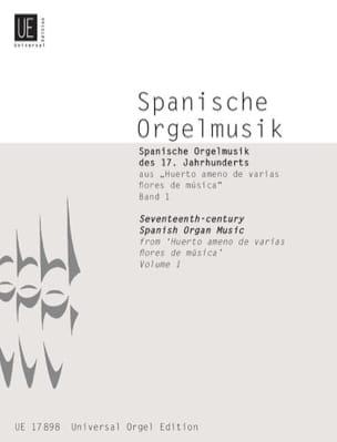 - Spanische Orgelmusik des 17. Jahrhunderts Vol 1 - Partition - di-arezzo.fr