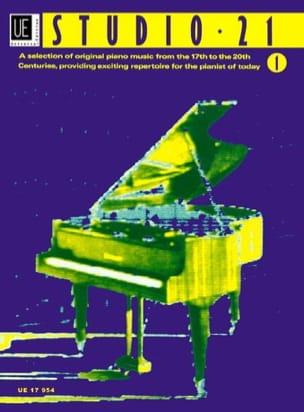 Studio 21 Volume 1 - Partition - Piano - laflutedepan.com
