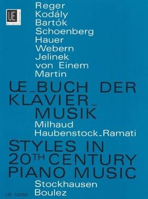 UE-Buch der Klaviermusik des 20. Jahrhunderts Partition laflutedepan